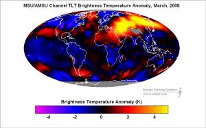 Fig. 6 - Anomalia termica, marzo 2008
