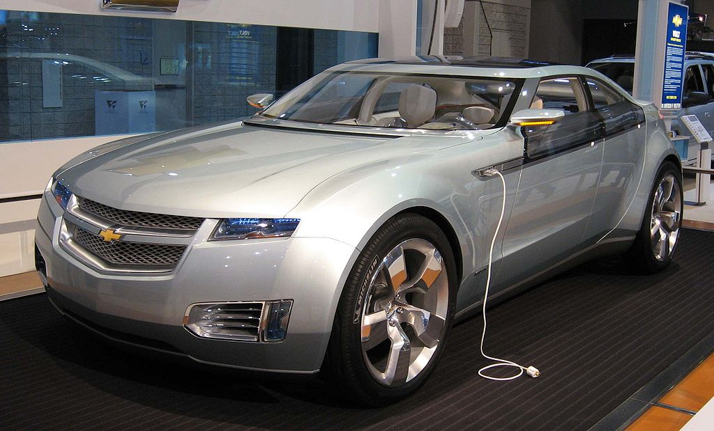 Chevrolet Volt - Image in the Public Domain
