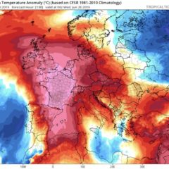 Il Giorno Più Caldo – L'Ondata di Caldo Europea del 23 – 25 Luglio 2019