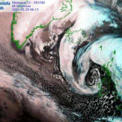 Tempesta Jorge, l'Atlantico sforna uno Sting Jet